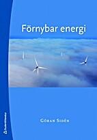 Förnybar energi by Göran Sidén