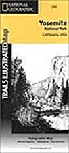 Trails Illustrated Map: Yosemite National…