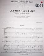 Communion Service Missa Resurrectionis by…