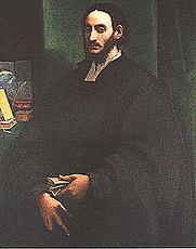 Author photo. Supposed portrait by Sebastiano del Piombo (c. 1520)