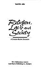 Religion Law and Society a Christian Muslim…