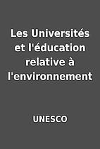 Les Universités et l'éducation relative à…