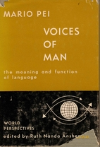 Voices of Man The Meaning and Function of…