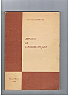 Appunti di macroeconomia by Giancarlo…