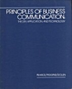 Principles of Business Communication:…