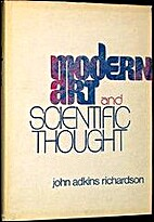 Modern art and scientific thought by John…