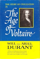 The Age of Voltaire by Will Durant