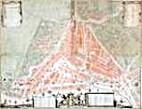 K XIV. Nieuwe plattegrond der Stad…