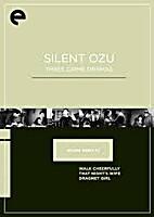 Silent Ozu: three crime dramas…