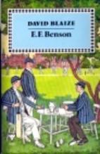 David Blaize by E. F. Benson