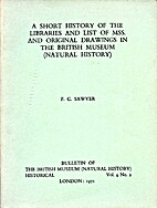 A Short History of The Libraries and List of…