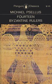 Fourteen Byzantine Rulers: The Chronographia…
