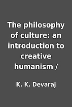 The philosophy of culture: an introduction…