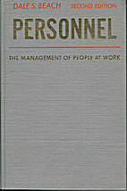 Personnel: the management of people at work…