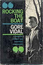 Rocking the boat by Gore Vidal