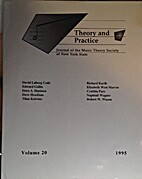 Theory and Practice, Vol. 20 by Philip…