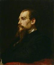 """Author photo. """"The Leighton Portrait"""" by Frederic Leighton, Baron Leighton"""