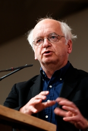 """Author photo. <a href=""""http://commons.wikimedia.org/wiki/User:Jastrow"""">Marie-Lan Nguyen/Wikimedia Commons</a> - Political rally on March 3, 2008 at the Maison de la Mutualité  (Paris) for Lyne Cohen-Solal's campaign in the 2008 Paris town elections."""