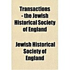 Transactions of the Jewish Historical…
