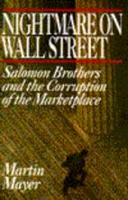 Nightmare on Wall Street: Salomon Brothers…