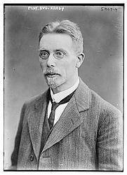 Author photo. The Danish scientist August Krogh