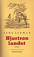 Hjortronlandet by Sara Lidman