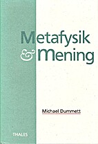 Metafysik och mening : essäer by…