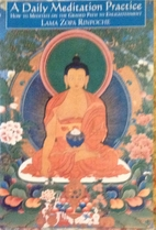 A daily meditation practice: How to meditate…