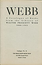 WEBB: A Catalogue of Books From the Library…