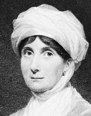 Author photo. Joanna Baillie, engraving by H. Robinson after a portrait by Sir William Newton. Wikimedia Commons.