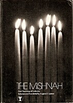 The Mishnah, oral teachings of Judaism by…