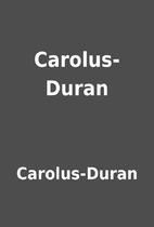 Carolus-Duran by Carolus-Duran