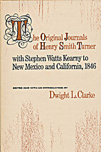 The original journals of Henry Smith Turner…