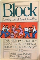 Block: Getting Out of Your Own Way : The New…