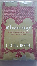 Gleanings Essays in Jewish History, Letters…
