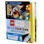 LEGO Star Wars Build Your Own Adventure - Book with More Than 50 Building Ideas Rebel Pilot Mini figure and Y-Wing Starfighter - Lego
