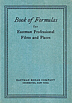 Book of Formulas for Eastman Professional…