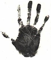 Author photo. Cheiro's right hand