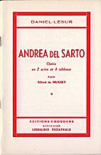 Andrea del Sarto by Daniel-Lesur (Daniel…