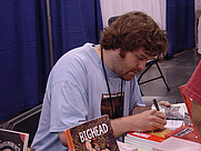 Author photo. Jeffrey Brown, Comic Book Writer at Heroes Con 2006 (Wikipedia)