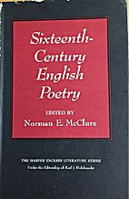 Sixteenth-Century English Poetry by Norman…