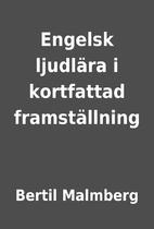 Engelsk ljudlära i kortfattad…