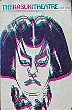 The Kabuki Theatre (East West Center Book)…