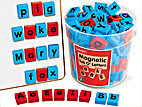 Magnetic Tub O'Letters by Lakeshore