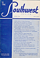 Southwest Review (Volume 92, Number 1)