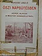 Őszi napsütésben képek, alakok a magyar…
