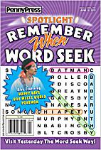 Penny Press Spotlight Remember When Word…
