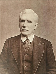Author photo. Image from <b><i>Linguistic and oriental essays. Written from the year 1847 to 1890</i></b> (1891) by Robert Needham Cust