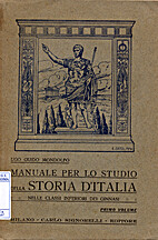 Manuale per lo studio della Storia d'Italia…