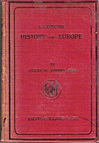 A Concise History of Europe by Avery H.…